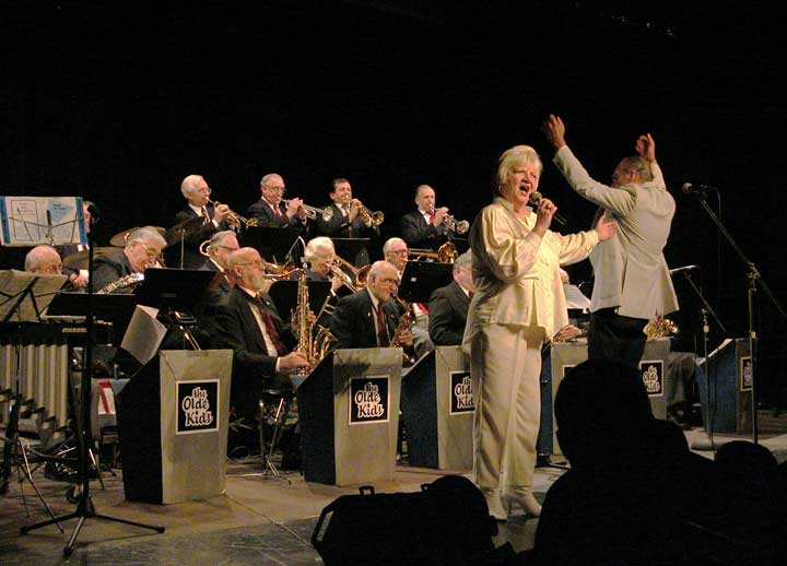 """Olde Kids"" is a 19-piece dance band"