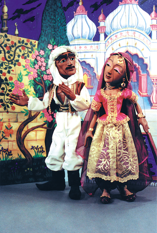 Tanglewood Marionettes: An Arabian Adventure